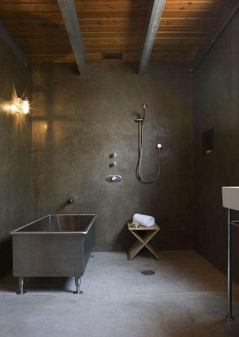 mell lawrence metal bath