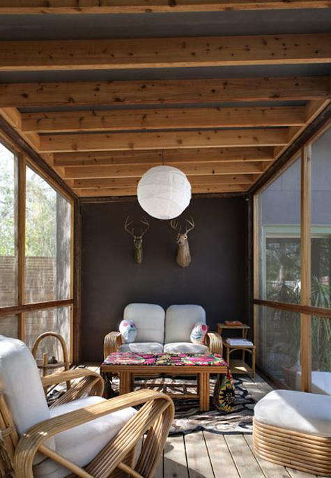 Architect Visit Screened Porch by Poteet Architects in San Antonio Texas portrait 5