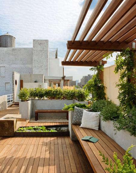 Architect Visit East Village Rooftop Garden by Pulltab AD portrait 3