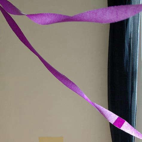 purple garlands via ensuite