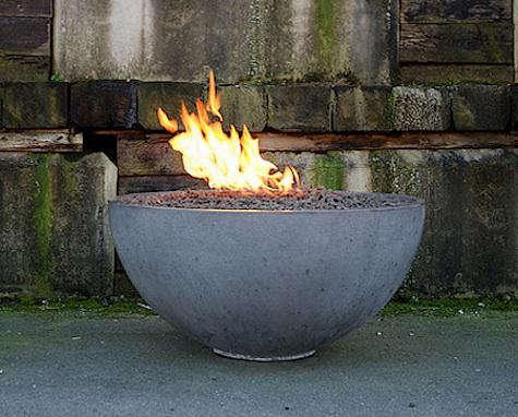 solus concrete hemi firebowl