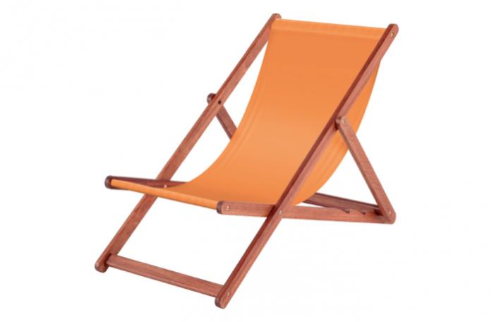 700 700 italian deck chairs in orange