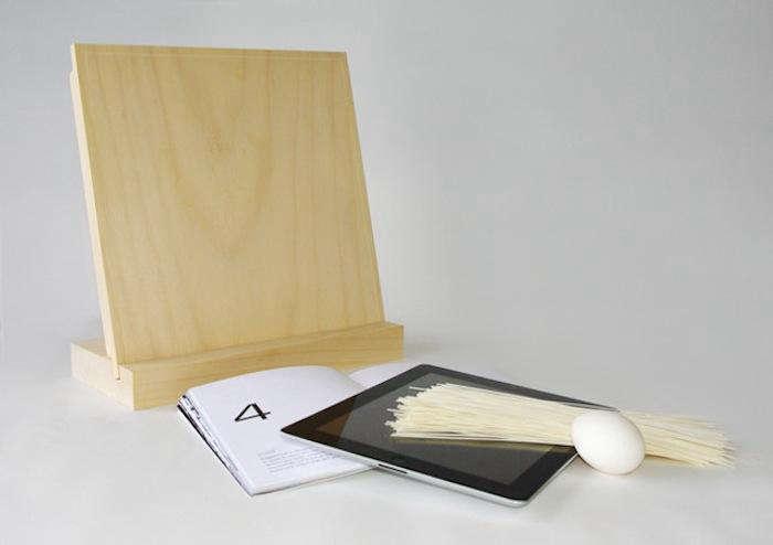 700 cutting board ipad stand