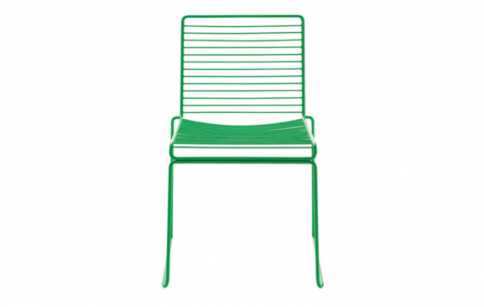 700 hee dining chair in green hay
