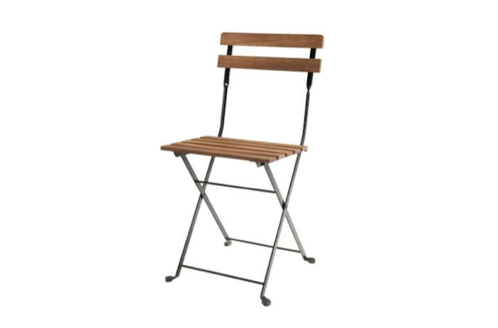 700 ikea wooden cafe folding chair