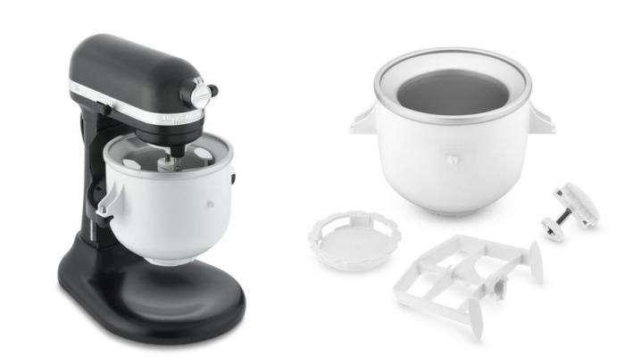 700 kitchenair ice cream maker attachment