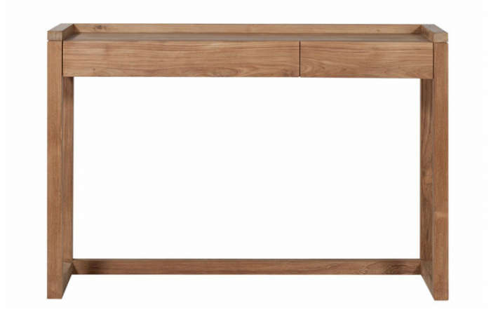 700 lekker home teak frame pc desk