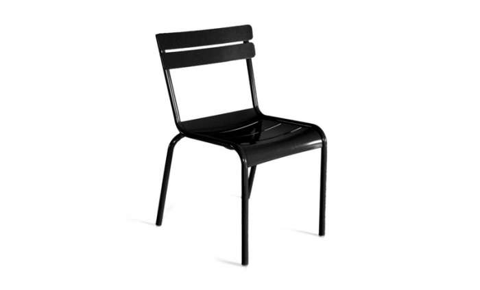 700 luxembourg side chair black