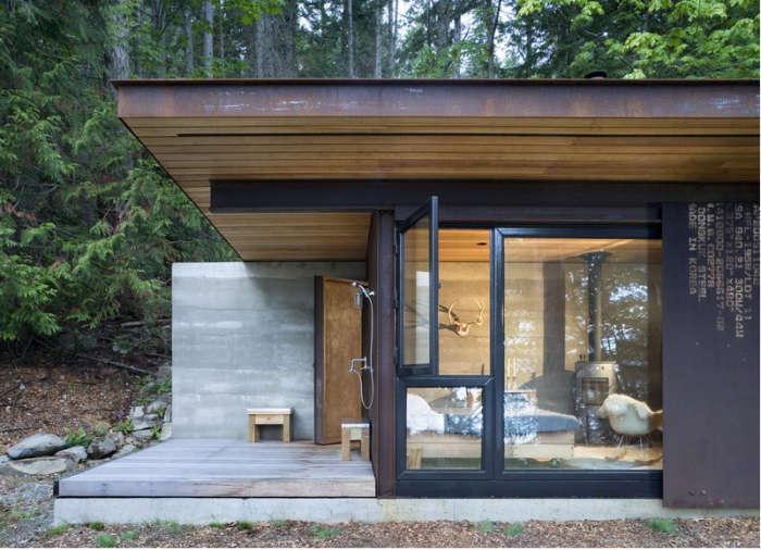 700 olson kundig cabin logs
