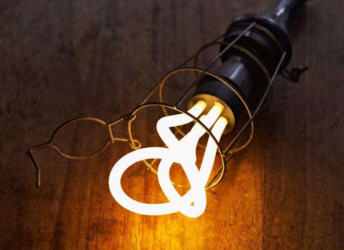 700 plumen light bulb in cage