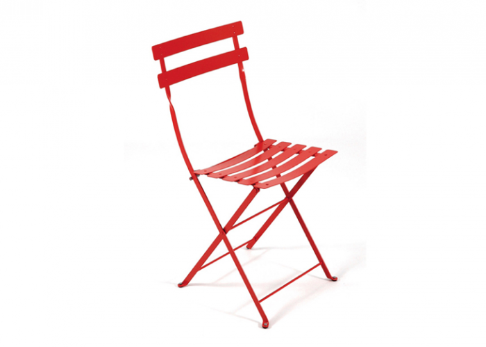 700 red french bistro chair fermob