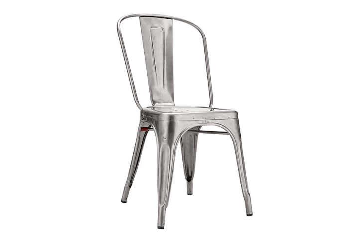 700 tolix marais chair silver a chair
