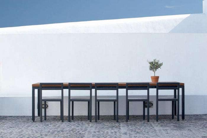 700 villa fabrica outdoor dining table