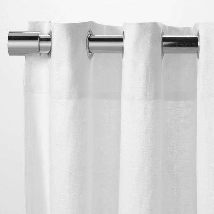 700 west elm white grommet curtains