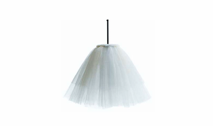700 white tulle liv lamp jonas bohlin