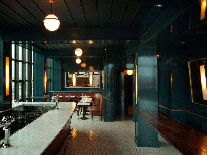 700 wythe hotel teal bar