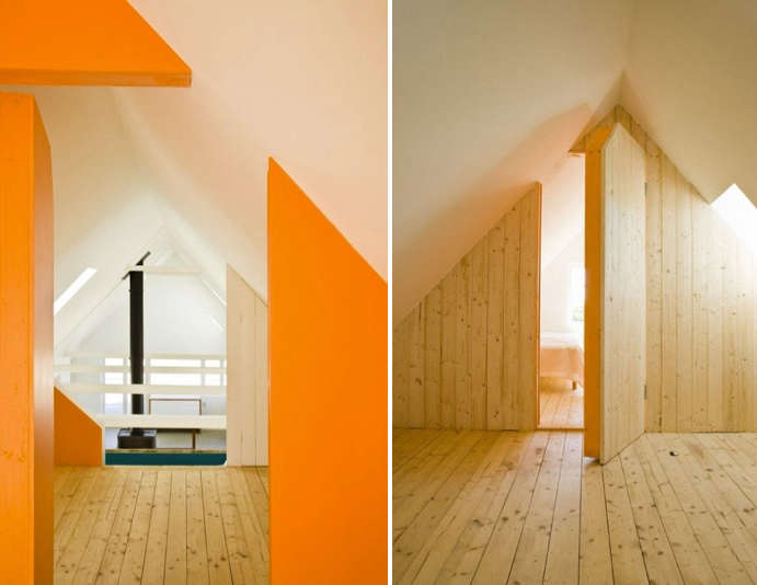 Shocking Color in a Swedish Summer House portrait 8
