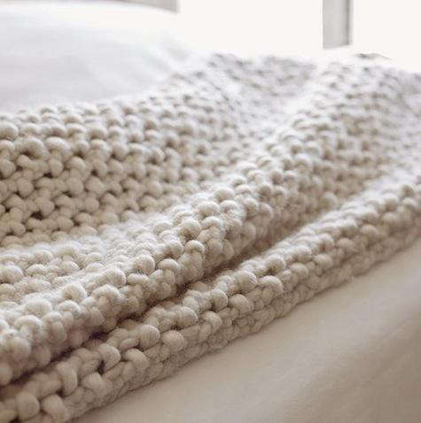 Australian chunky wool blanket 2