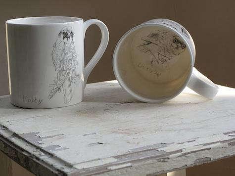 Tabletop Some British Birds Ceramics by Edwyn Collins for Elli Popp portrait 5