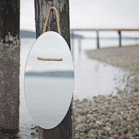Accessories Hung Mirror by Grain portrait 4