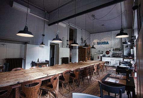 Restaurant Visit U Barba Osteria in Milan Italy portrait 5