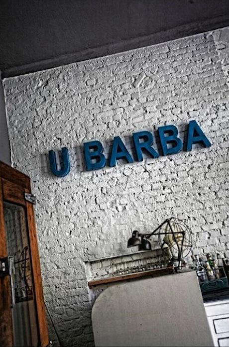 Restaurant Visit U Barba Osteria in Milan Italy portrait 3