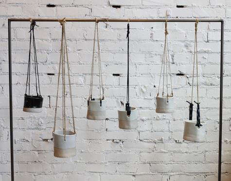 Accessories Hanging Pots by TW Pottery in Los Angeles portrait 3