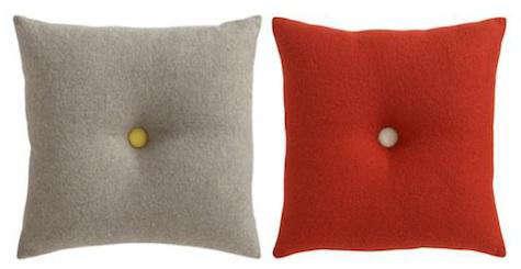 cbs dot cushions pair
