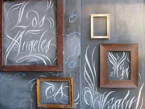 chalkboard frames ink sack