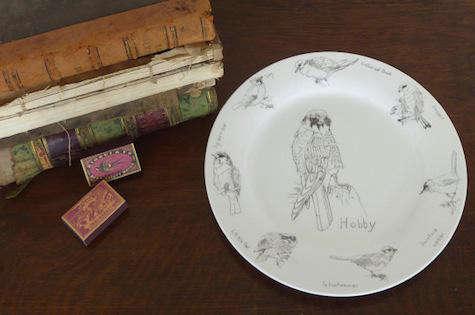 Tabletop Some British Birds Ceramics by Edwyn Collins for Elli Popp portrait 7