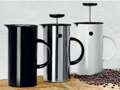 em coffee press design story