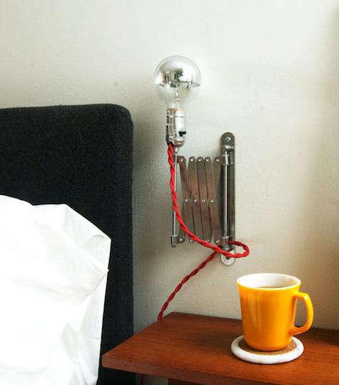 DIY Accordian Lamp by Manhattan Nest portrait 4