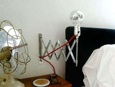 DIY Accordian Lamp by Manhattan Nest portrait 3