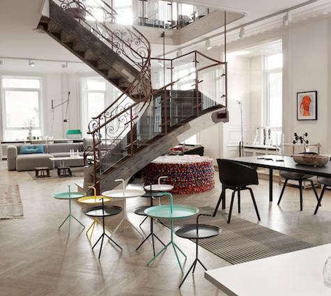 hay staircase art nouveau