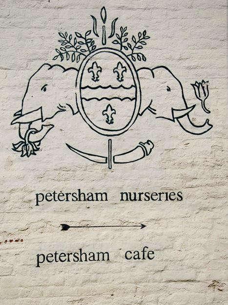Shoppers Diary Petersham Nurseries in Richmond UK portrait 3