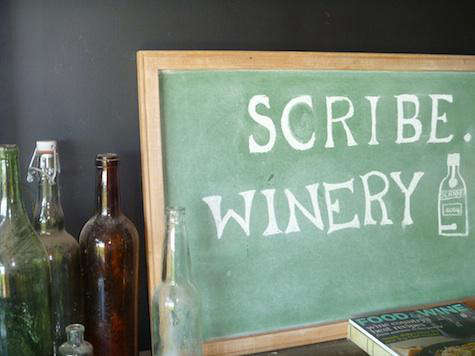 Restaurant Visit Scribe Winery in Sonoma portrait 3