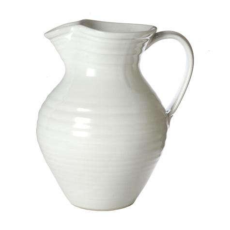 simon pearce belmont pitcher