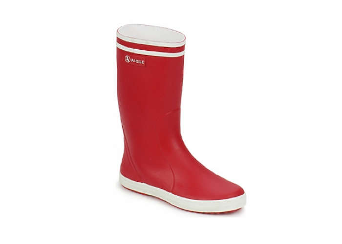 700 aigle lollypop boot in red