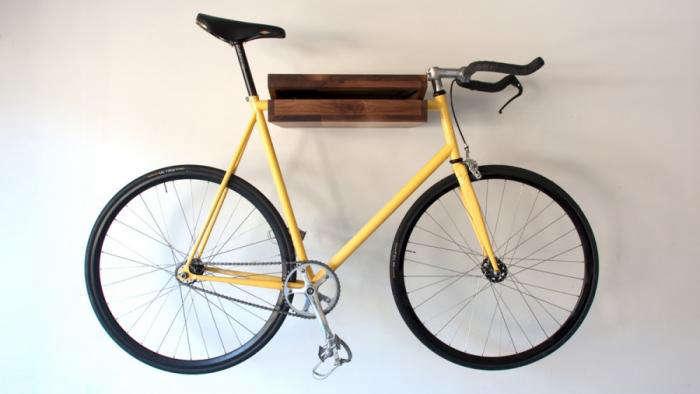 700 bike rack wood 10