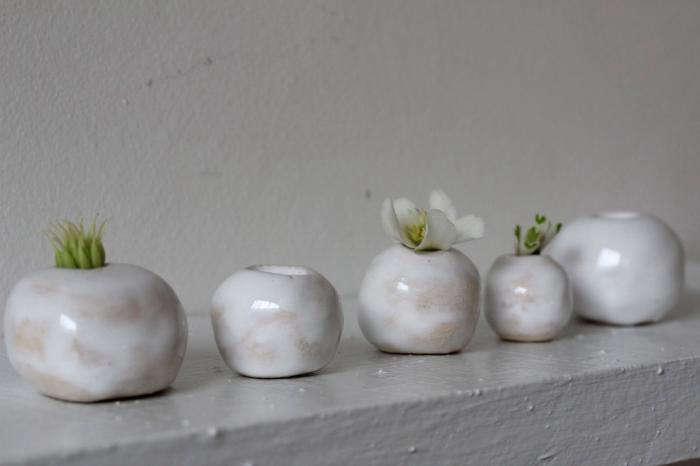 700 cecile daladier ceramics in a row