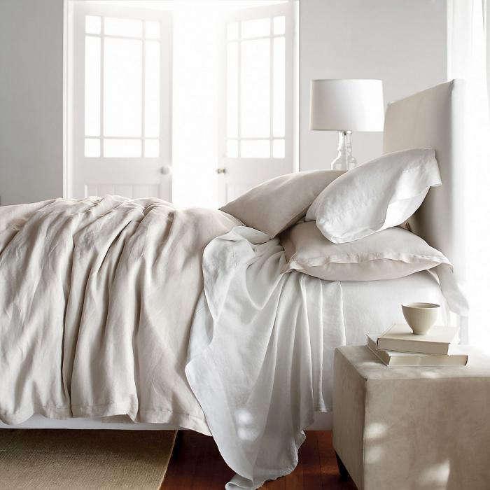 700 comfort linen sheets wash large