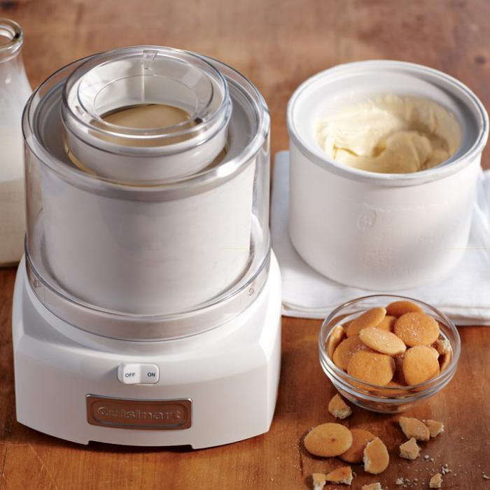 700 cuisnart classic ice cream maker extra bowl