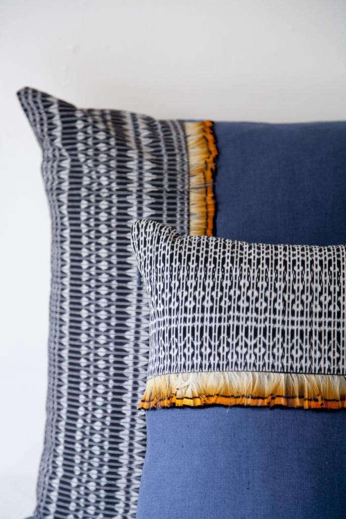 700 feather rebozo pillows