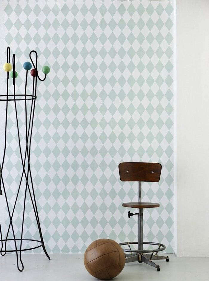 700 ferm living harlequin wallpaper