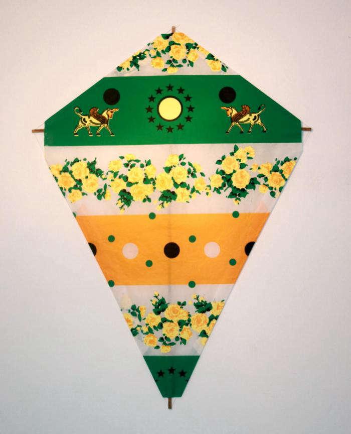 700 fredricks and mae kite green yellow orange