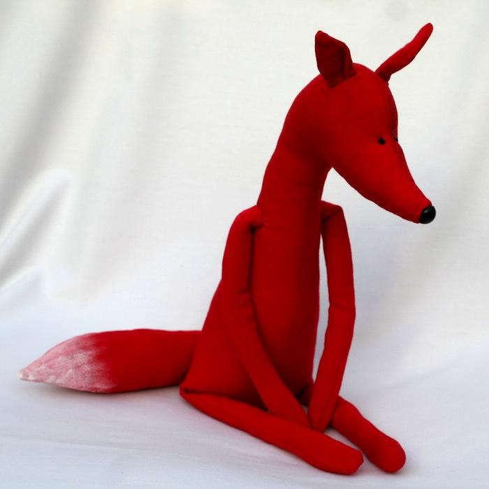 700 red fox animal toys