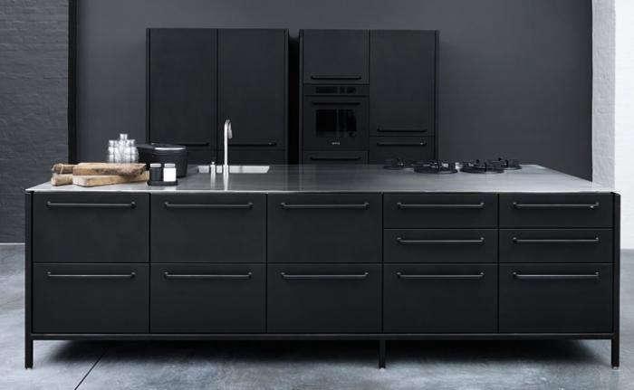 700 vipp kitchen island gray