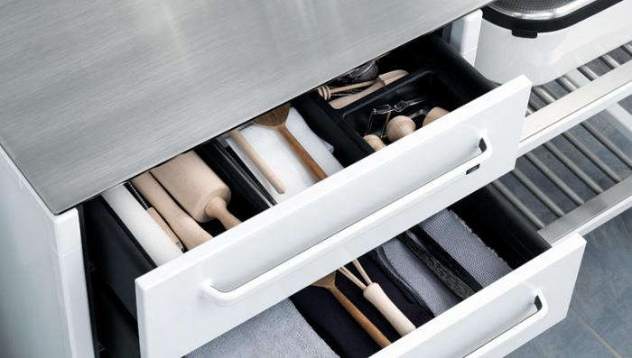 700 vipp kitchen white island drawers