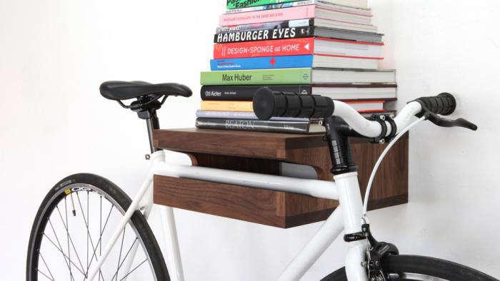 700 wood bike rack 1