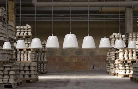 Lighting 14Percent Porcelain Pendant by Laura Strasser portrait 6